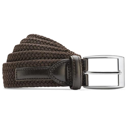 Cintura intrecciata da uomo bata, marrone, 959-4124 - 13