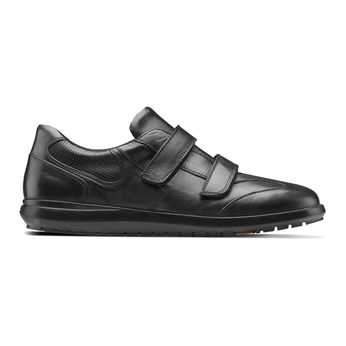 Sneakers da uomo in pelle flexible, nero, 844-6110 - 26