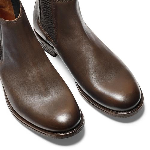 Chelsea Boots in pelle da uomo bata, marrone, 894-4152 - 15