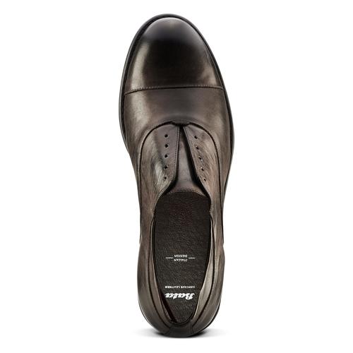 Scarpe in vera pelle senza lacci bata, marrone, 824-4240 - 17