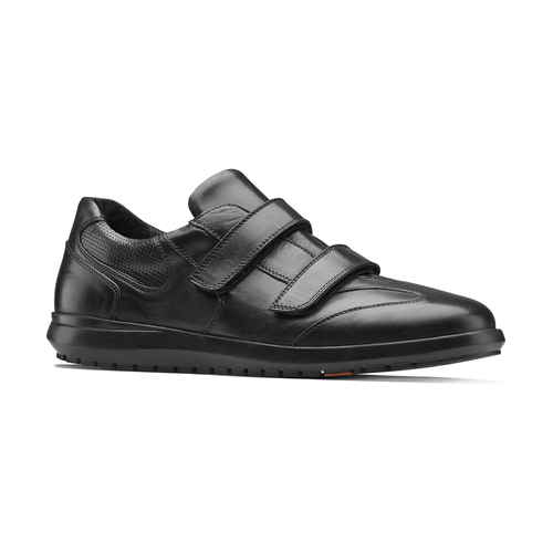 Sneakers da uomo in pelle flexible, nero, 844-6110 - 13