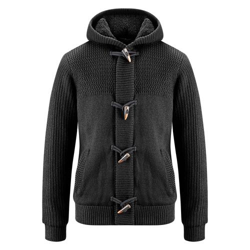 Giacca da uomo con cappuccio bata, nero, 979-6169 - 13