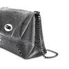 Minibag argento con tracolla bata, grigio, 969-2194 - 15