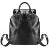 Zaino nero con borchie bata, nero, 961-6150 - 26