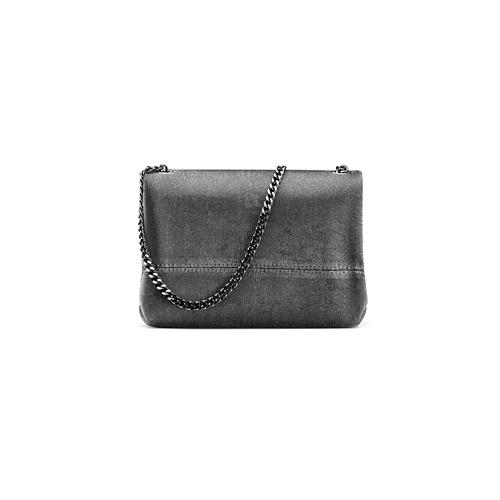 Minibag argento con tracolla bata, grigio, 969-2194 - 26