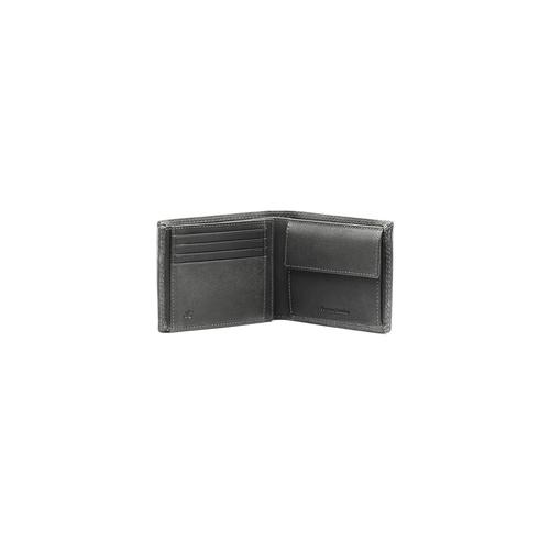 Portafoglio da uomo in pelle bata, grigio, 944-2129 - 16