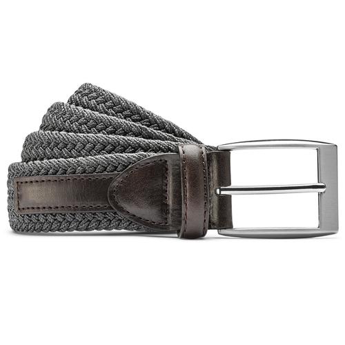 Cintura intrecciata bata, grigio, 959-2124 - 13
