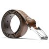 Cintura uomo con decorazione bata, marrone, 954-4103 - 26