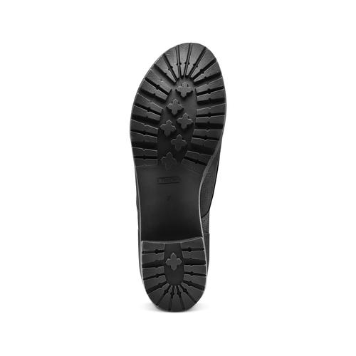 Stivaletti da donna con lacci bata, nero, 691-6450 - 19