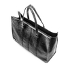 Shopper da donna in similpelle bata, nero, 961-6163 - 17