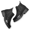 Chelsea Boots da bambina mini-b, nero, 399-6409 - 19