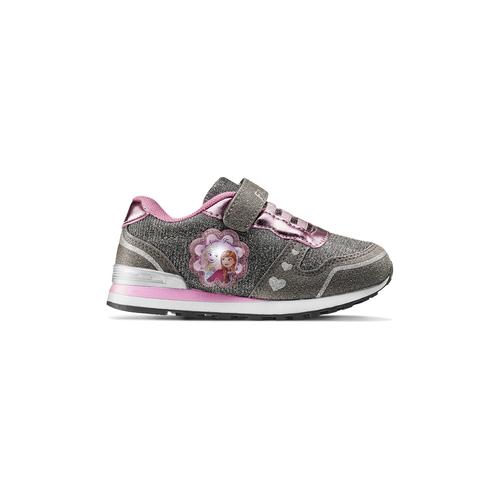 Sneakers Frozen con glitter frozen, grigio, 229-2206 - 26