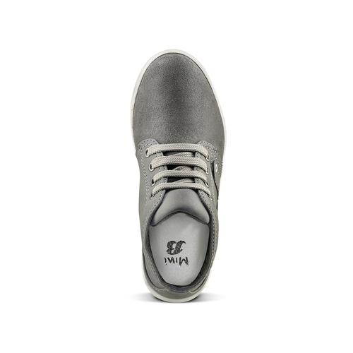 Sneakers alte da bimbo mini-b, grigio, 311-2279 - 15