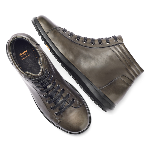 Sneakers Flexible da uomo flexible, marrone, 844-2121 - 19