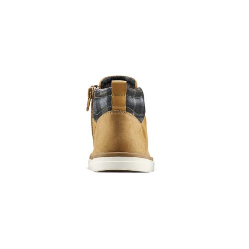 Sneakers alte da bambino mini-b, giallo, 291-8172 - 16