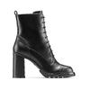 Stivali con lacci da donna bata, nero, 791-6177 - 26
