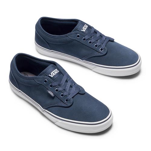 Sneakers Vans in suede in uomo vans, blu, 803-9210 - 19