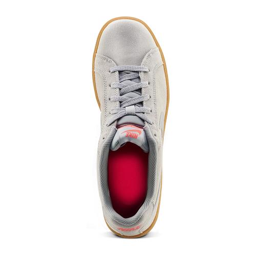 Sneakers Nike da uomo in suede nike, beige, 803-2302 - 15