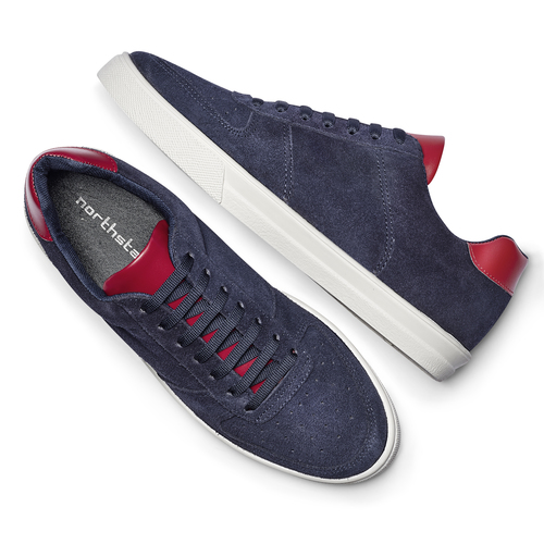 Sneakers da uomo north-star, blu, 843-9126 - 19