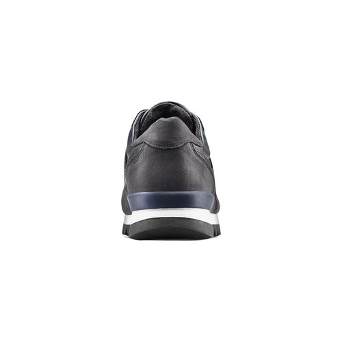 Sneakers casual da uomo north-star, blu, 841-9738 - 16