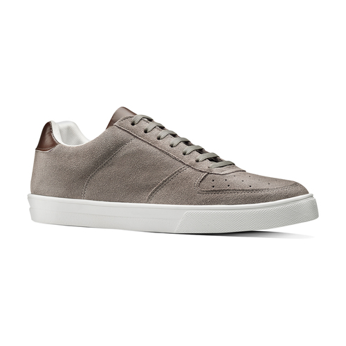 Sneakers in pelle scamosciata da uomo north-star, marrone, 843-3126 - 13