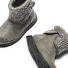 Stivaletti da bimba con dettaglio in lana mini-b, beige, 291-2170 - 19