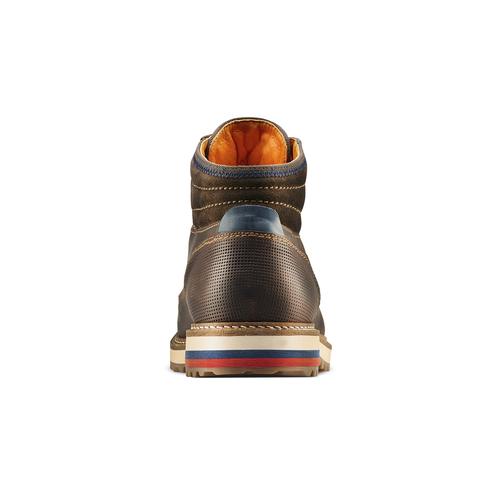 Stivaletti casual da uomo bata, marrone, 894-4716 - 15