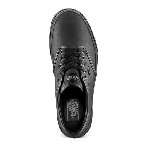 Scarpe in tela Vans uomo vans, nero, 801-6210 - 15