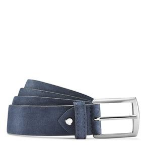 Cintura da uomo in pelle scamosciata bata, viola, 953-9101 - 13