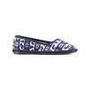 Pantofole in ciniglia bata, blu, 579-9423 - 13