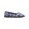 Pantofole in ciniglia bata, viola, 579-9423 - 13
