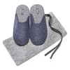Pantofole da uomo bata, viola, 879-9114 - 19