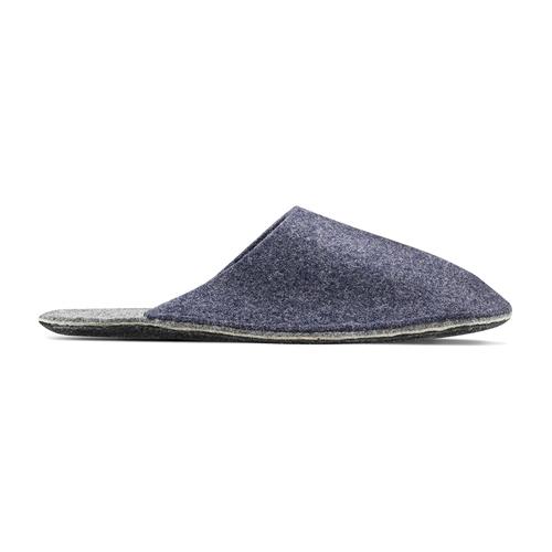 Pantofole da uomo bata, viola, 879-9114 - 26