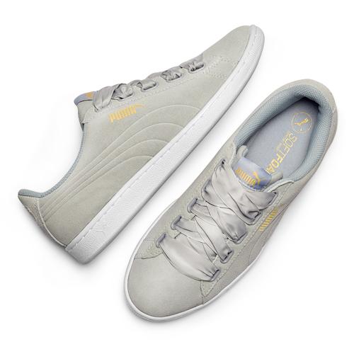 Sneakers basse Puma puma, grigio, 503-2129 - 19