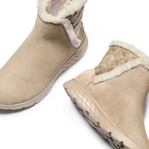 Stivaletti Skechers da donna skechers, beige, 503-3326 - 19