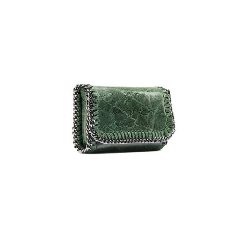 Tracolla con dettaglio catena bata, verde, 964-7278 - 13