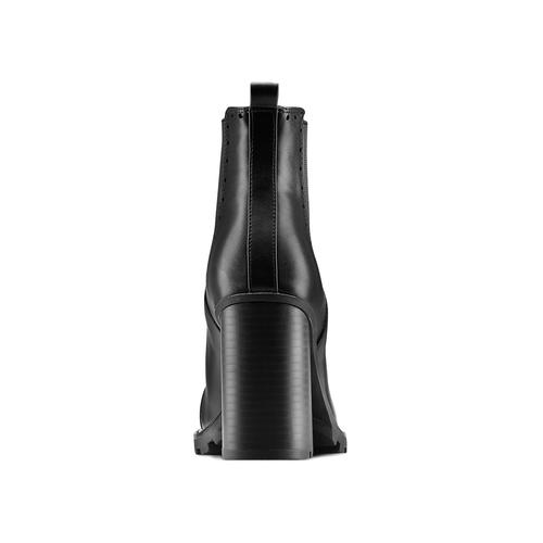 Stivaletti alla caviglia con tacco bata, nero, 791-6181 - 16