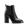 Stivaletti alla caviglia con tacco bata, nero, 791-6181 - 13