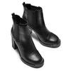Stivaletti alla caviglia con tacco bata, nero, 791-6181 - 15