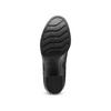 Ankle boots con tacco quadrato bata, nero, 791-6290 - 17