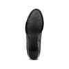 Tronchetti in vera pelle bata, nero, 794-6673 - 17