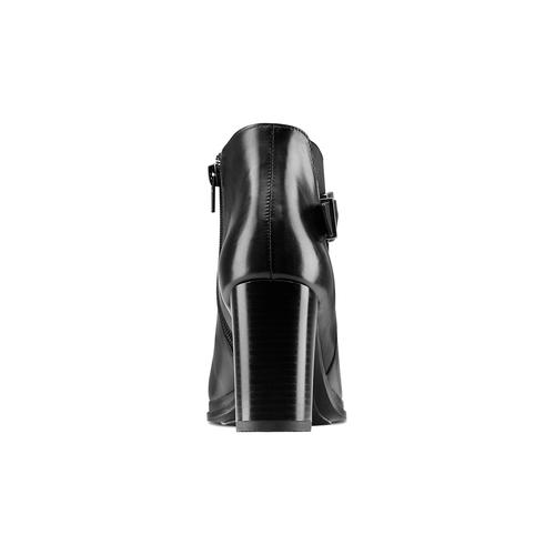Tronchetti in vera pelle bata, nero, 794-6673 - 16