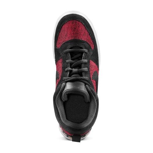 Nike Court Borough Mid da ragazzo nike, rosso, 401-5405 - 15