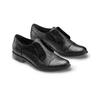 Scarpe basse in vera pelle bata, nero, 514-6267 - 16