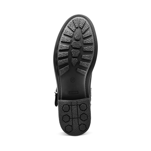 Stivaletti Biker traforati bata, nero, 591-6689 - 19