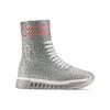 Sneakers calzino da donna bata, grigio, 549-2207 - 13