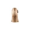 Stivaletti in suede con fibbia bata, beige, 799-8247 - 15