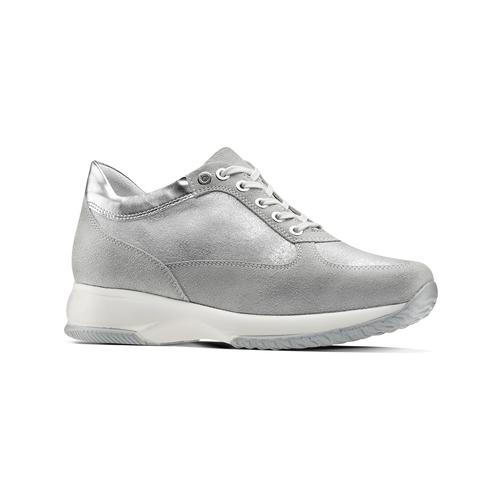 Sneakers alla caviglia da donna bata, grigio, 523-2306 - 13