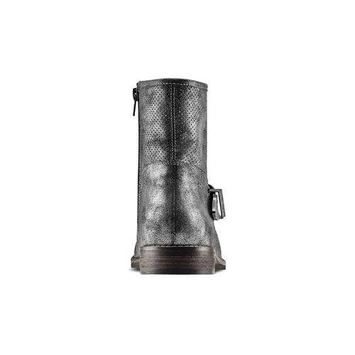 STIVALETTI DONNA CON FIBBIA bata, argento, 591-2691 - 15