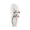 Sneakers con fibbie bata, bianco, 541-1196 - 17